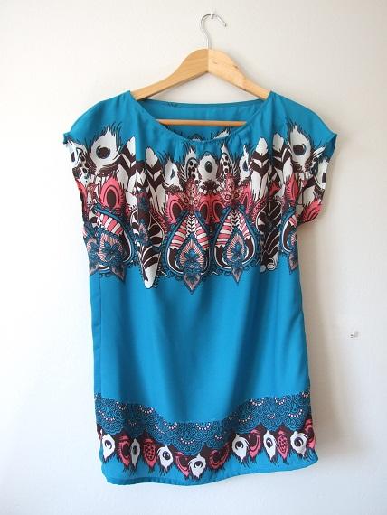 samarreta blava Petit taller de costura
